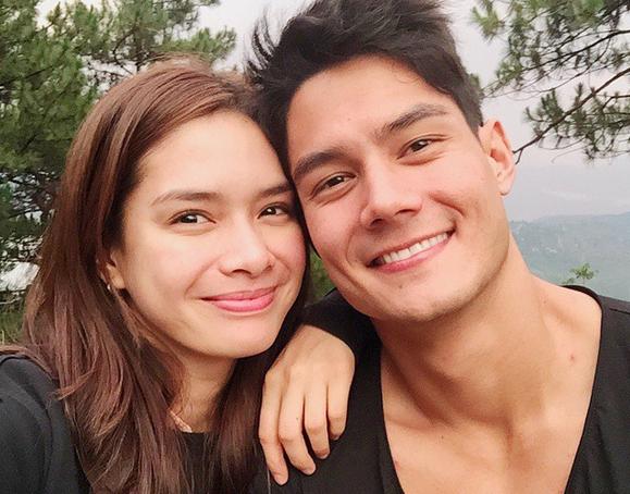 Daniel Matsunaga with girlfriend Erich Gonzales (Photo from Daniel's Instagram account)