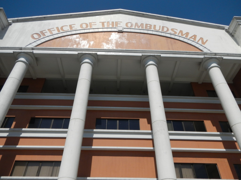 Office of the Ombudsman facade (Wikipedia photo)