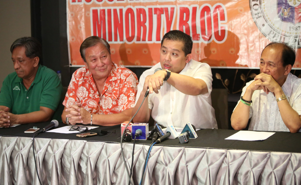 "(2nd right) PHILCONSA president and Leyte (1st Dist) Rep.Ferdinand Martin ""FM"" G. Romualdez  (Photo from Romualdez' website)"