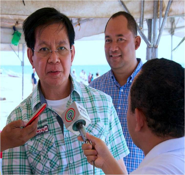 "Former PNP chief Panfilo ""Ping"" Lacson (Facebook photo/Carlo Loreto)"