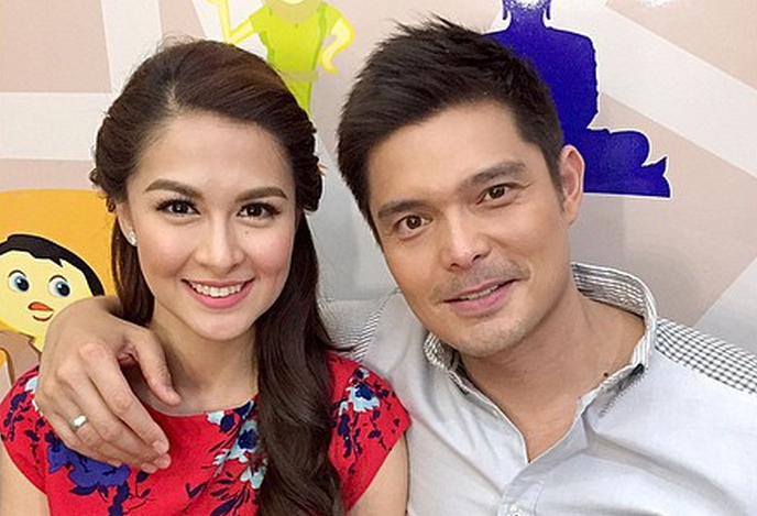 Marian Rivera and husband Dingdong Dantes (Photo from Marian's official Instagram account)