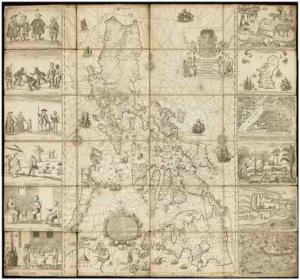 Murillo Velarde Map. Photo Courtesy of VERA Files