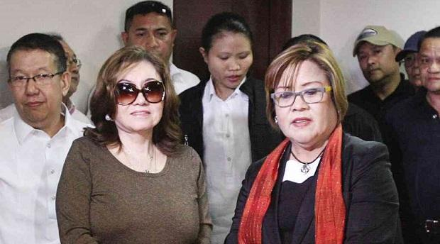 Pork barrel scam state witness Ruby Tuason (left) (Photo from Amazingnews.ph)