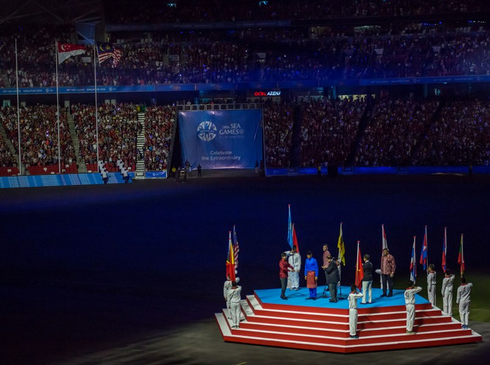 The 28th SEA Games closing ceremony (Photo from SEA Games 2015 website)