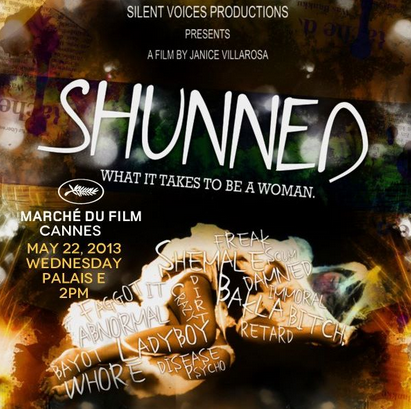 """Shunned"" movie poster (Facebook photo)"
