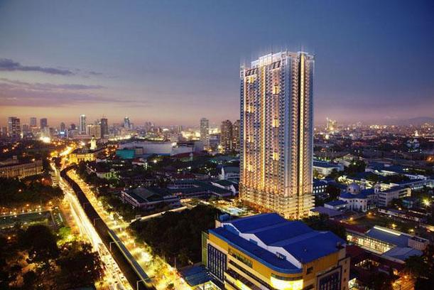 Torre de Manila projected after construction (DMCI photo)
