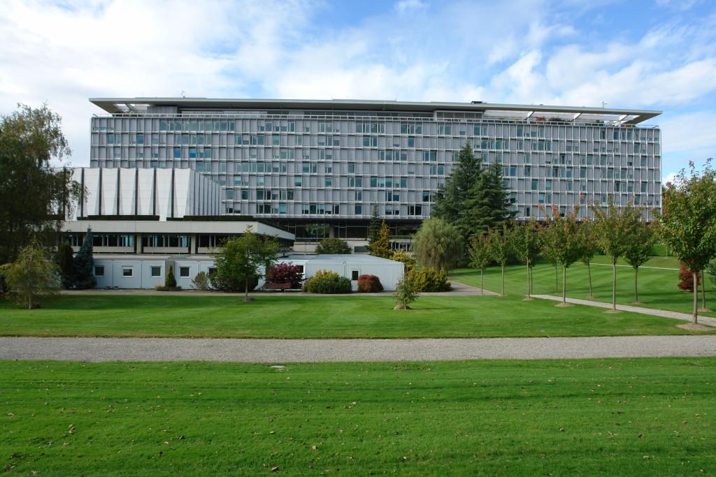 WHO Headquarters in Geneva (Wikipedia photo)