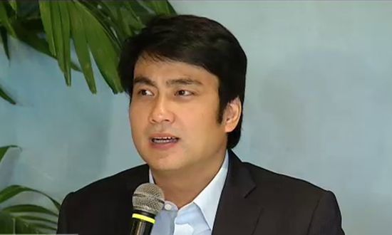 Senator Ramon 'Bong' Revilla Jr. (screencap from Solar News)