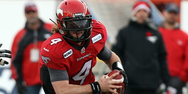 Drew Tate (Photo courtesy of the Canadian Football League)