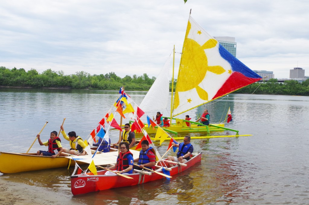 Philippine Heritage Week culminates in a fluvial parade at the Lac Leamy Park
