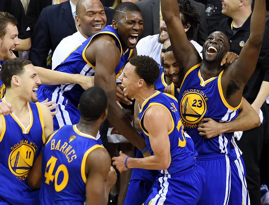 Golden State Warriors win NBA Finals after Game 6 against the Cleveland Cavaliers. (GSW Facebook photo)