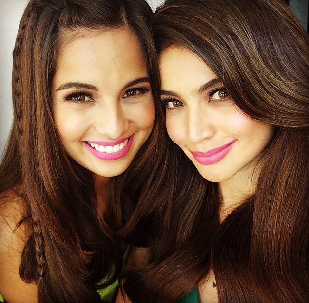 SUPERSTAR SISTERS: Jasmine (left) and Anne Curtis-Smith (@annecurtissmith / Instagram)