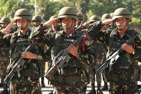 Philippine Army soldiers (Photo from the Hukbong Katihan ng Pilipinas' official Facebook page)