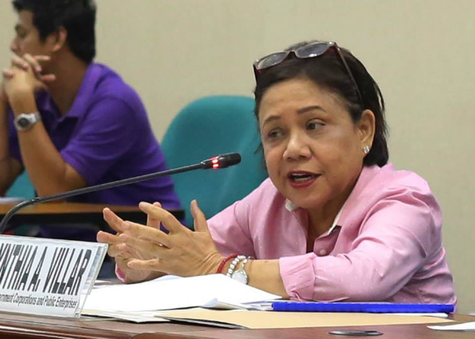 Senator Cynthia Villar. (Photo from Villar's website)