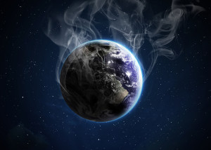 The researchers used three factors to estimate future emissions: the total human population of earth, the gross domestic product per person, and carbon intensity, which is the amount of carbon emitted per unit of energy consumed. (shutterstock)