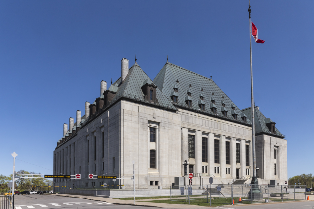 Supreme Court of Canada (Shutterstock)