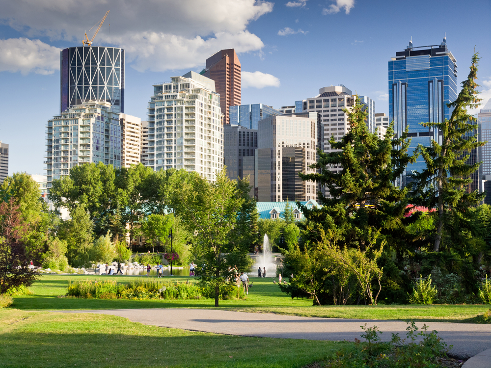 FILE: Downtown Calgary (Shutterstock)