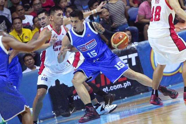Marc Pingris (Photo from Pingris' Facebook page)