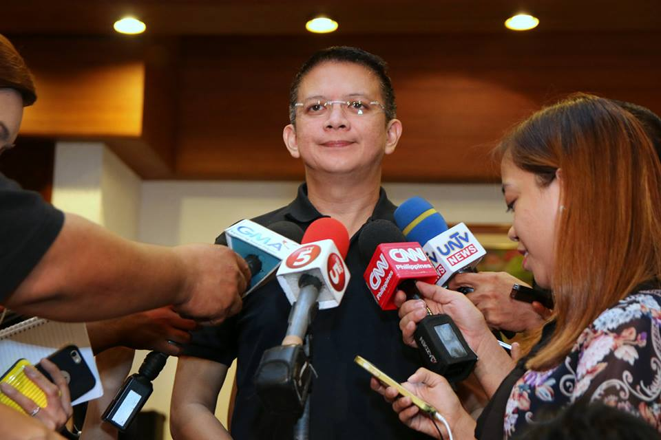 Senator Chiz Escudero, chairman of the Senate committee on environment and natural resources (Photo from Escudero's official Facebook page)