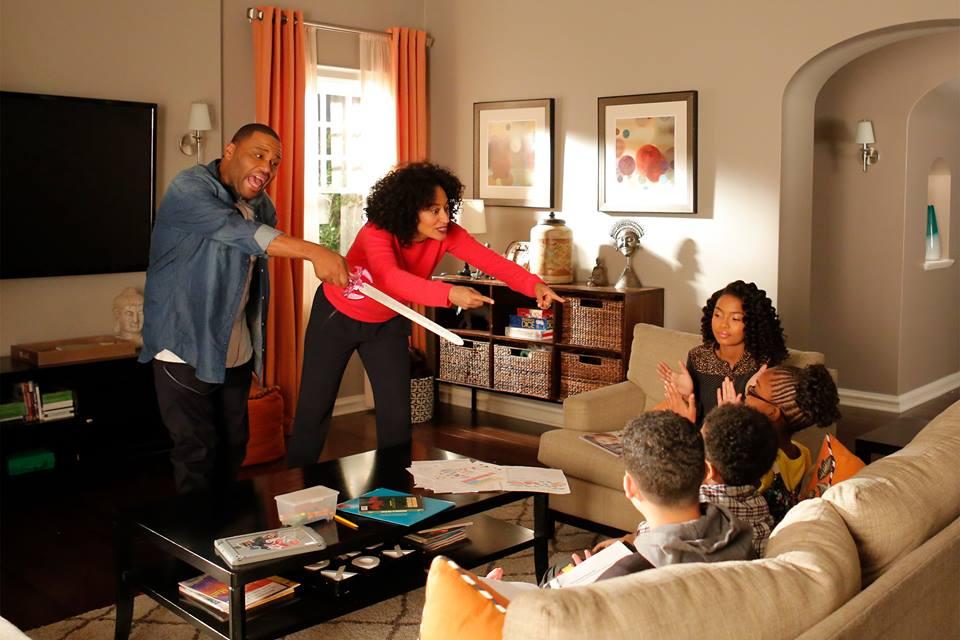 The cast of hit ABC sitcom 'black-ish' (Facebook)