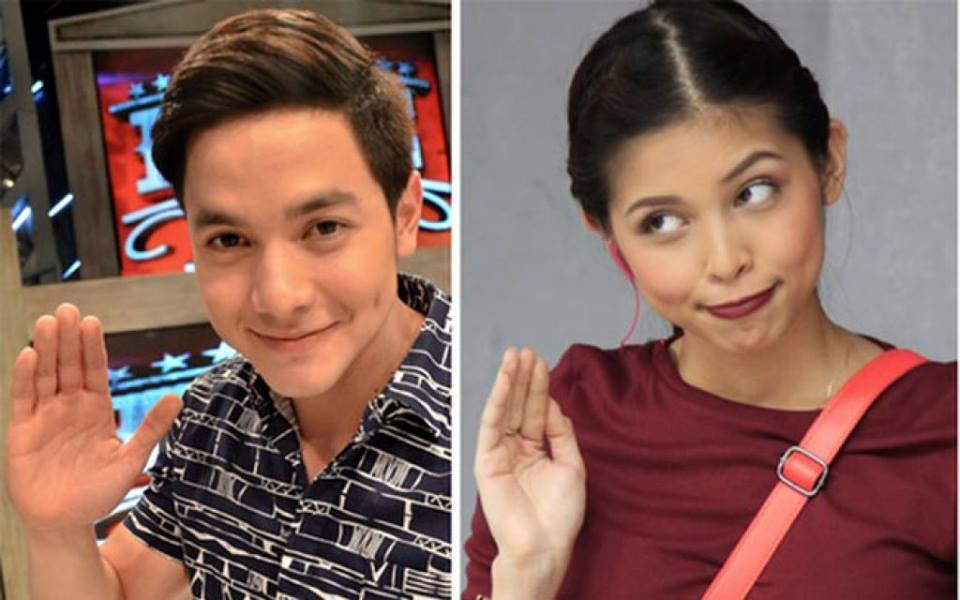 Alden Richards (left) and Maine Mendoza (Photo from Alden's official Facebook page)