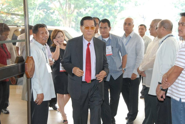 Senator Juan Ponce Enrile (Photo from Enrile's Facebook page)