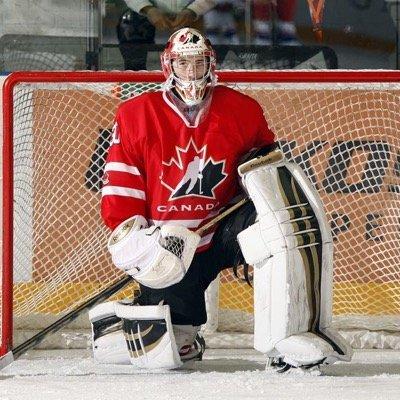 Calgary Flames prospect Mason McDonald (Twitter photo)