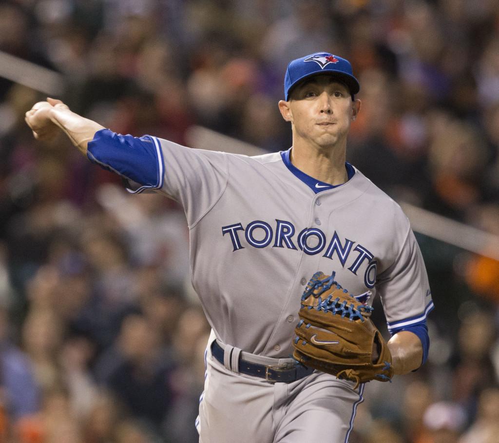 Toronto pitcher Aaron Sanchez (Photo from Keith Allison/Wikipedia)