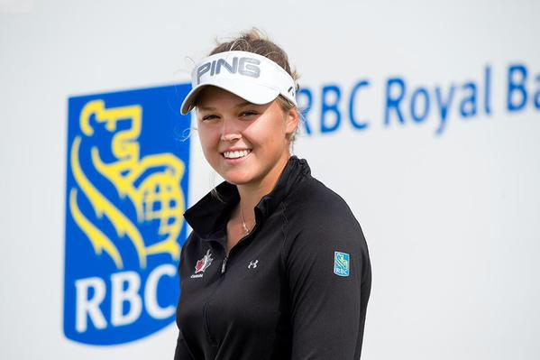 Brooke Henderson (Photo from Henderson's official Twitter account)