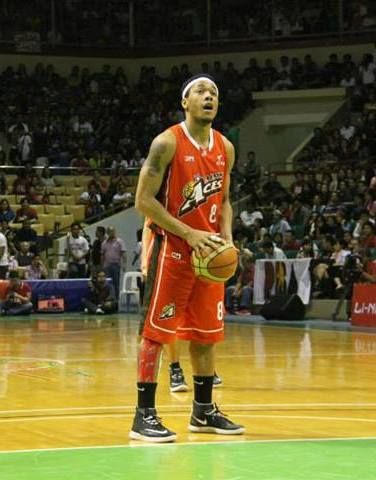 Gilas Pilipinas player Calvin Abueva (Photo from Wikipeda)