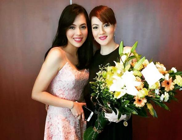 Carmina Villaroel (right) and Julia Montes (Photo from Carmina's Instagram account)