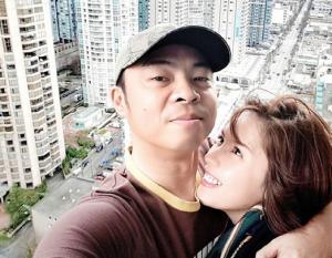 Parokya ni Edgar vocalist Chito Miranda and wife Neri Naig (Photo from Chito's official Instagram account)