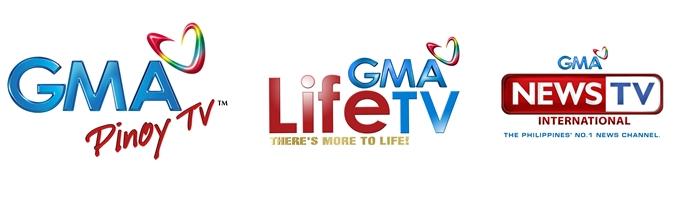 GMA Pinoy TV, GMA Life TV and GMA News TV International (Contributed photo)