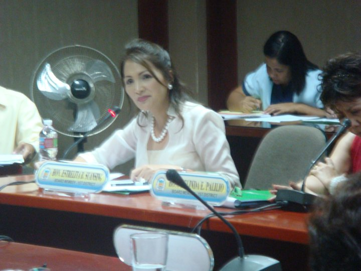 Rep. Estrellita Suansing (Photo from Zamboanga.com)