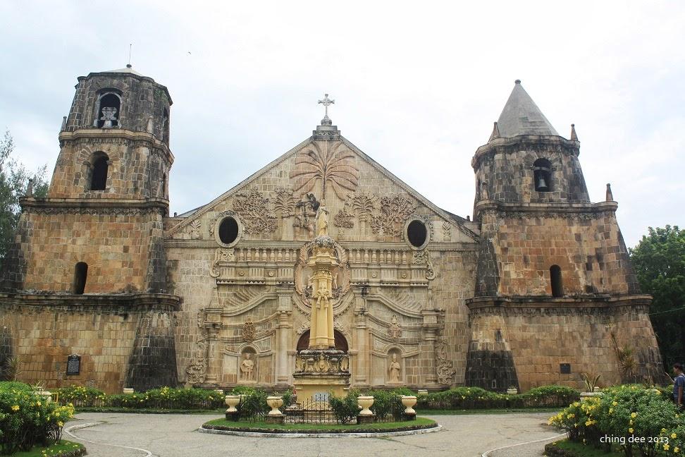 Miag-ao Church in Iloilo, a UNESCO World Heritage site (Ching Dee / PCI)