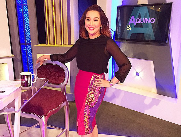Kris Aquino (Photo from Aquino's Instagram account)