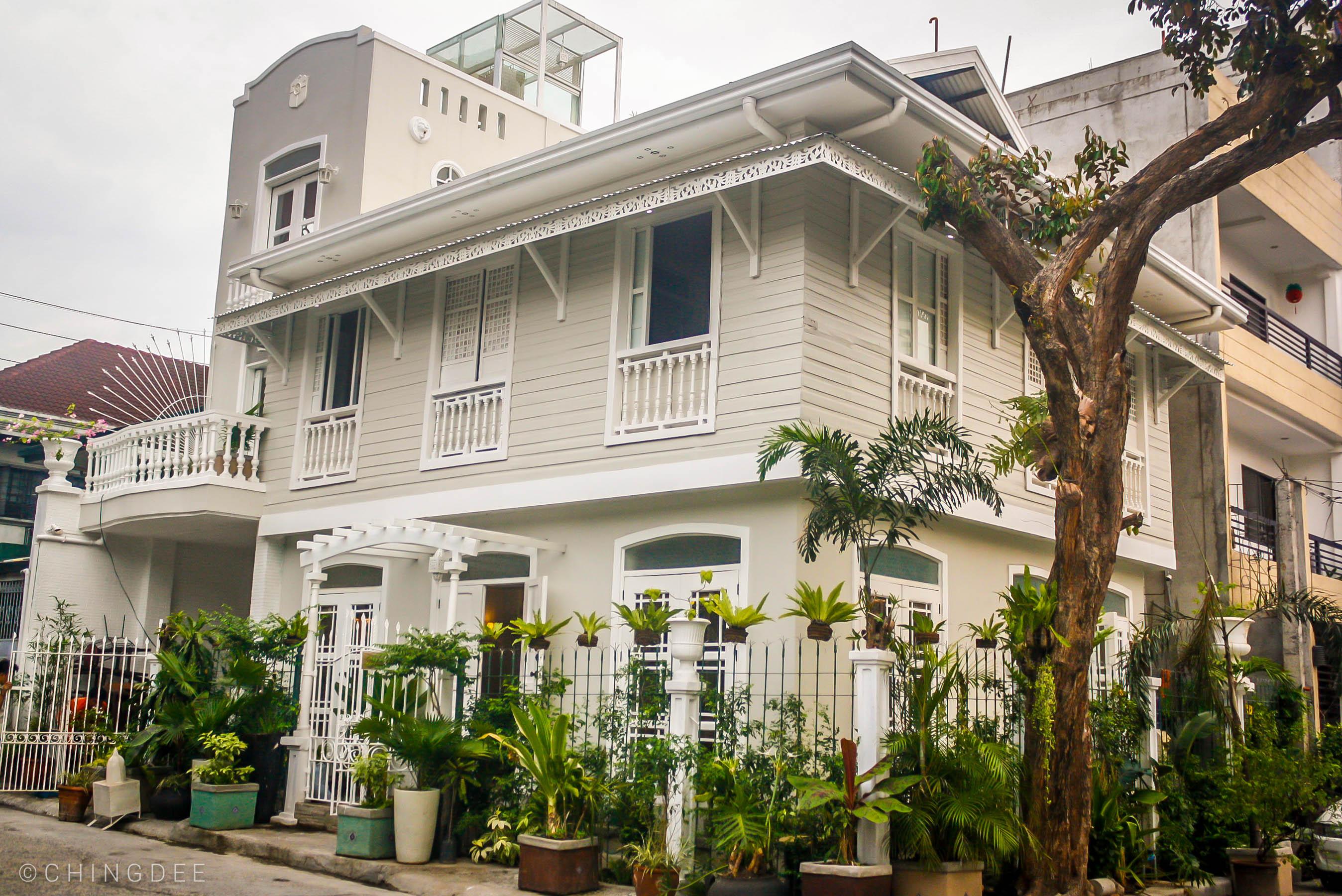 La Casita Mercedes is located at Fermina cor. Enriquez Street in Poblacion, Makati City