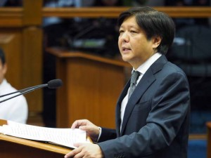 "Senator Ferdinand ""Bongbong"" Marcos Jr. (Photo from Marcos' website)"