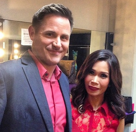 Pokwang with her American boyfriend Lee O'Brian (Photo from Pokwang's Instagram account)