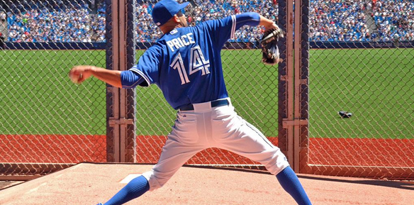David Price (Photo from Price' official Twitter account)