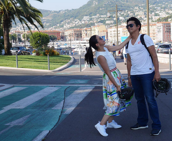 Robin Padilla and wife Mariel Rodriguez in one of their trips (Photo from Mariel's official Instagram account)