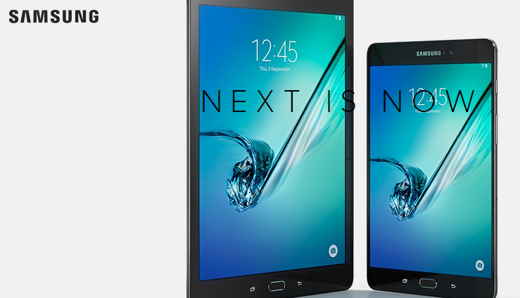 Samsung's Galaxy Tab S2 coming out next week. (Photo from Samsung)