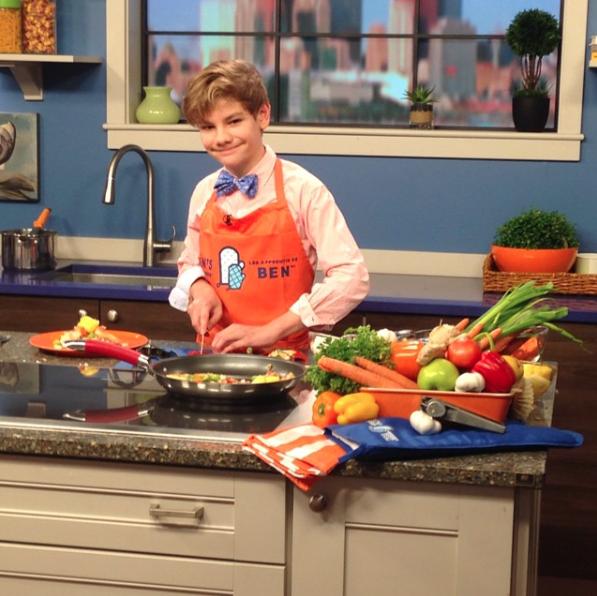 MasterChef Junior Logan Gullef (@logan.jr.chef / Instagram)