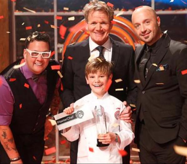 Logan Gullef wins MasterChef Junior Season 2 (@logan.jr.chef / Instagram)