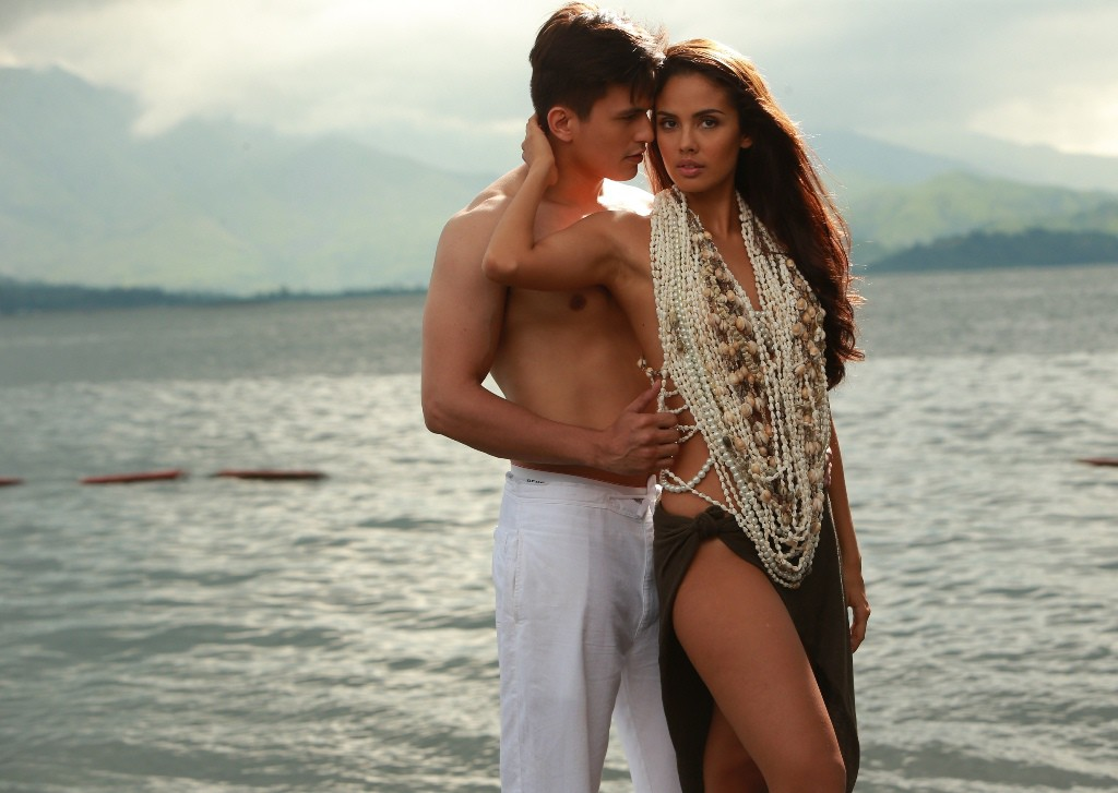 Tom Rodriguez and Megan Young as Sergio and Marimar (Contributed photo)