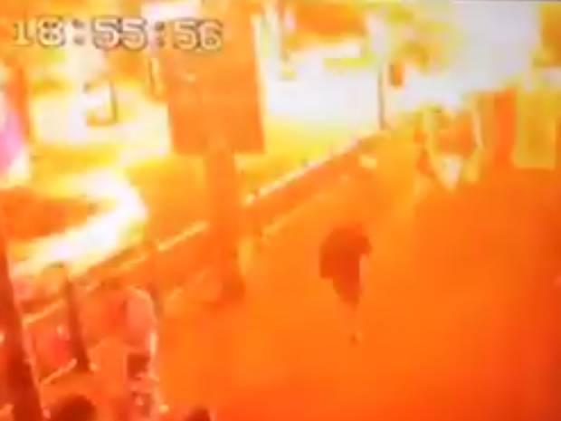 screenshot of Bangkok bombing