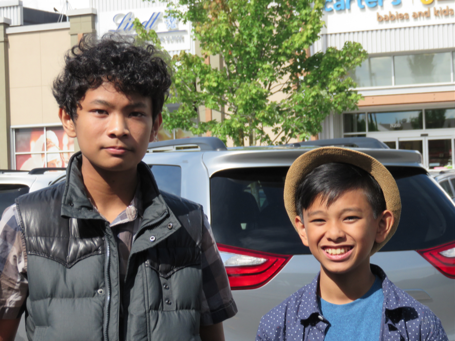 Ethan with interview Jeremiah Sumagui