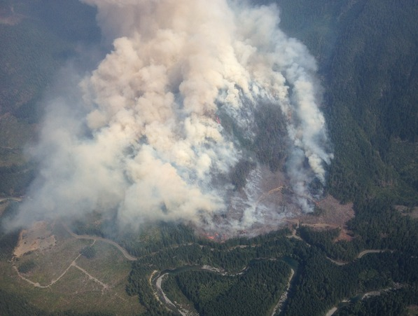 (Photo from the B.C. Wildfire Management Branch)