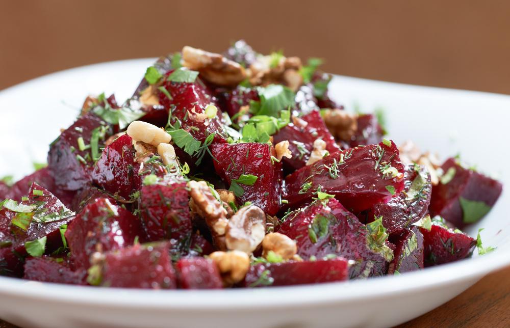 Beets, Mint, Walnut (Shutterstock)