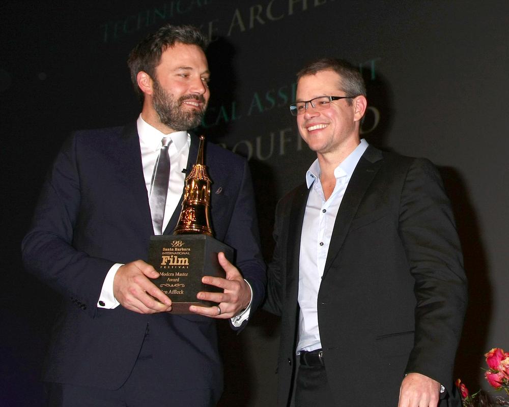 Award-winning actors and directors Ben Affleck and Matt Damon (Helga Esteb / Shutterstock)